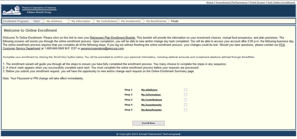 Scotiabank 401k online enrollment number